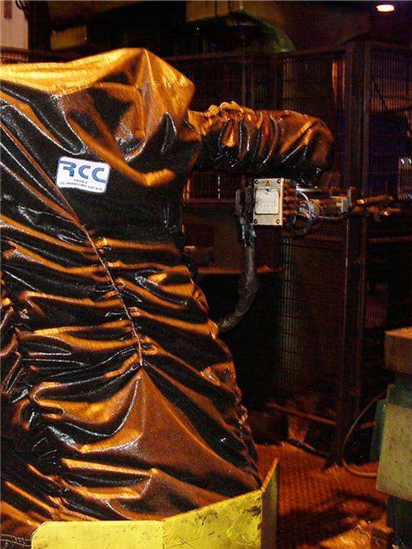 Gießerei Schmiede Roboter
